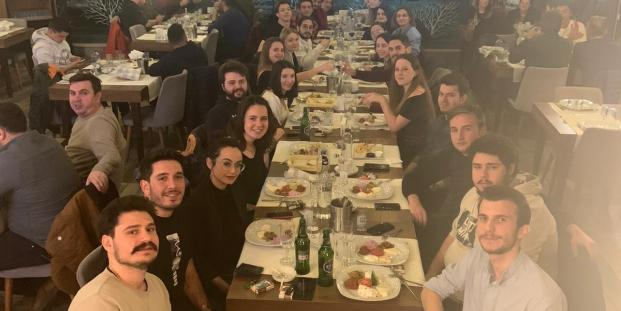 Last week we gathered to celebrate ESN Trakya's traditional Nostalgia Night. We had such a lovely time together with some Turkish tavern songs